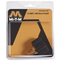 "MI-T-M AW-0023-0487 1/4M X ""M22 SCREW COUPLER"