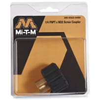 "MI-T-M AW-0023-0488 1/4F X ""M22 SCREW COUPLER"