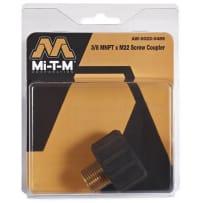 """MI-T-M AW-0023-0489 3/8M X """"M22 SCREW COUPLER"""