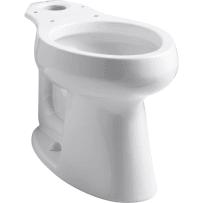 KOHLER K-4199-0 HIGHLINE WHITE CONFORT HEIGHT ELONGATED BOWL