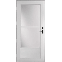 "Provia Deluxe 399 Self-Store 32"" Storm Door Snow Mist"