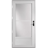 "Provia Deluxe 399 Self-Store 36"" Storm Door Snow Mist"