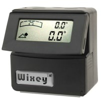 WIXEY #WR365 DIGITAL ANGLE GAUGE WITH LEVEL