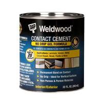 DAP 25312 WELDWOOD CONTACT CEMENT GEL FORMULA QUART
