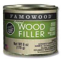 FAMOWOOD 36141102 ORIGINAL WOOD FILLER ASH 1/4 PINT