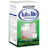 RUSTOLEUM 7860519 WHITE TUB & TILE REFINISH KIT