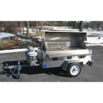 Rental Propane Grill (Tow Behind)