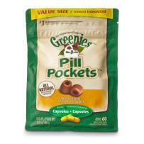 GREENIES GRE04539 PILL POCKETS CANINE CHICKEN FLAVOR DOG TREATS