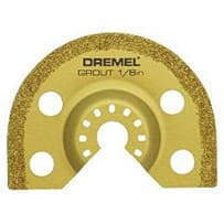 DREMEL MM500 1/8 INCH MULTI MAX CARBIDE GROUT BLADE
