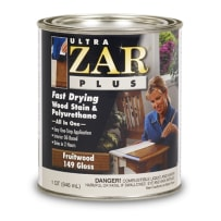 UNITED GILSONITE 16306 ZAR PLUS WOOD STAIN 1/2 PT DARK MAHOGANY