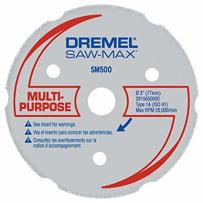DREMEL SM500 SAW MAX WOOD AND PLASTIC CARBIDE WHEEL 3 INCH