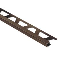 Schluter Quadec Edge 5/16 Inch Antique Bronze Aluminum BRH Q80ABGB