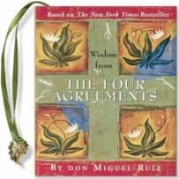 PETER PAUPER PRESS 990X WISDOM FROM THE 4 AGREEMENTS MINI BOOK