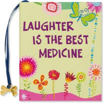 PETER PAUPER PRESS 8174 LAUGHTER IS THE BEST MEDICINE MINI BOOK