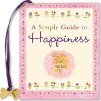 PETER PAUPER PRESS 8365 A SIMPLE GUIDE TO HAPPINESS MINI BOOK