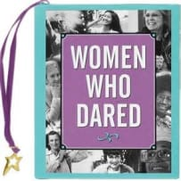 PETER PAUPER PRESS 8440 WOMEN WHO DARED MINI BOOK