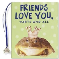 PETER PAUPER PRESS 9226 FRIENDS LOVE YOU WARTS AND ALL MINI BOOK