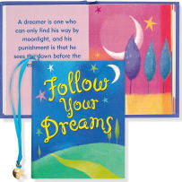 PETER PAUPER PRESS 8167 FOLLOW YOUR DREAMS MINI BOOK