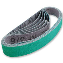 WORK SHARP WSKTS SHARPENER BELTS - 80 GRIT - 6 PK.