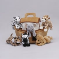 UNIPAK DESIGNS 7166NO PLUSH NOAH'S ARK WITH ANIMALS