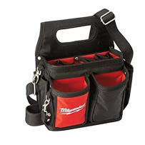 MILWAUKEE 48-22-8100 15 POCKET ELECTRICIANS WORK POUCH WITH QUICK ADJUST BELT