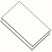"""CONTRACTORS CHOICE UKS24 011 (2) MAPLE SHELVES FOR 24"""" PANTRY"""
