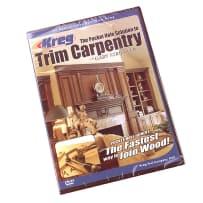 KREG: THE POCKET HOLE SOLUTION TO TRIM CARPENTRY WITH GARY STRIEGLER DVD