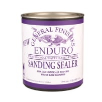 GENERAL FINISHES QTH20SANDS ENDURO SANDING SEALER WATER BASED QUART