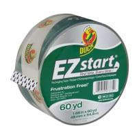 DUCK BRAND 299002 EZ START PACKAGING TAPE CLEAR 1.88IN X 60 YD