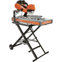 "Rental 10"" Electric Wet Tile Saw w/ Stand"