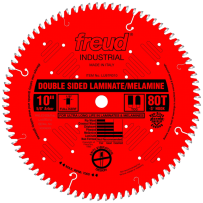 FREUD LU97R010 10 INCH DOUBLE SIDED LAMINATE / MELAMINE BLADE