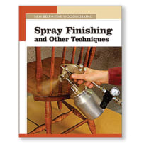 SPRAY FINISHING & OTHER TECHNIQUES BOOK