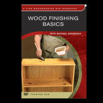 WOOD FINISHING BASICS WITH MICHAEL DRESDNER DVD