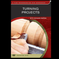 TURNING PROJECTS WITH RICHARD RAFFAN DVD