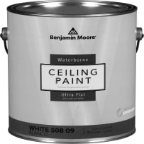 BENJAMIN MOORE 508 2X QT AURA WATERBORNE CEILING (TYPE 2X) TINTABLE BASE QUART