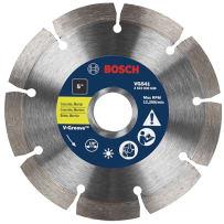 """BOSCH VG4541 4-1/2"""" DIAMOND V GROOVE BLADE"""
