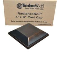 TimberTech TX4X4PCAPB Black Express Post Cap