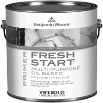 BENJAMIN MOORE 002400-004 FRESH START ALK PRIMER-WHITE-QUART.