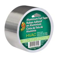 DUCK BRAND 280416 HVAC METAL REPAIR ALUMINUM FOIL TAPE SILVER 1.88 IN X 10 YD