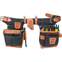 Occidental Leather 9850 Black Fat Lip Tool Bag Set
