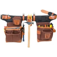 Occidental Leather 9855 Café Fat Lip Tool Bag Set