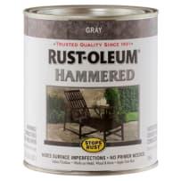 RUSTOLEUM 7214502 GRAY HAMMERED PAINT