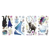 YORK WALLCOVERINGS RMK2361SCS GLITTER PEEL AND STICK WALL DECALS MULTI