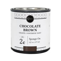 GIANI CHOCBRN CHOCOLATE BROWN MINERAL FOR COUNTERTOP PAINT KITS STEP 2C