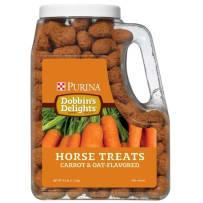 Purina Dobbin's Delight Carrot & Oat Horse Treat 2.5Lb 0026185