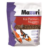 Mazuri Koi Platinum Nuggets Fish Food 3.5Lb 0060818