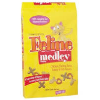 PMI Feline Medley Cat Food 20Lb 0051300