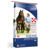 Purina Equine Senior Active Horse Feed 50Lb 3003276-506