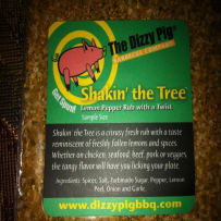 DIZZY PIG  SHAKIN THE TREE BBQ RUB SAMPLE