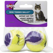 BCI 523297 MINI TENNIS BALL W/ CATNIP